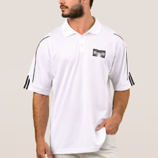 Auto Sales - faux metal, silver auto Showroom Polo Shirt