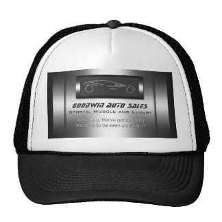 Auto Sales Giveaway - faux metal, silver auto Cap