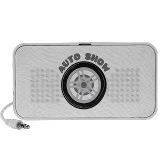 Auto Show iPod Speaker