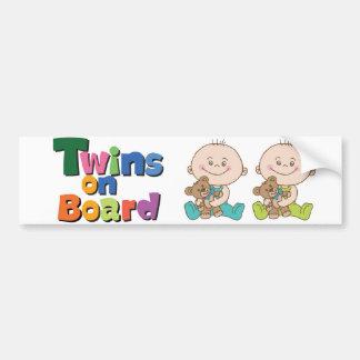 Auto Sticker Twins