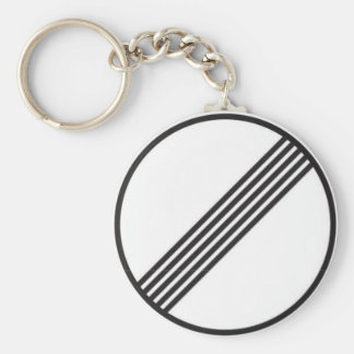 Autobahn No Speed Limits Key Ring