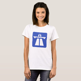 Autobahn Sign For German T-Shirt