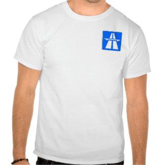 Autobahn Small Logo tee