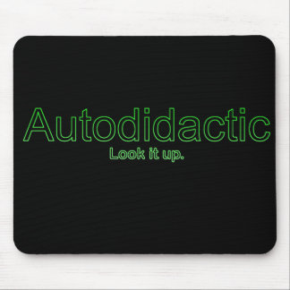 Autodidactic Mouse Pad