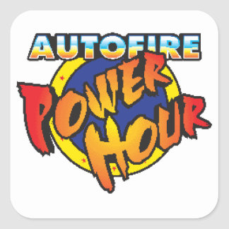 Autofire Power Hour Sticker