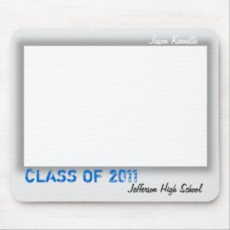 Autograph Graduation Mousepad Grey