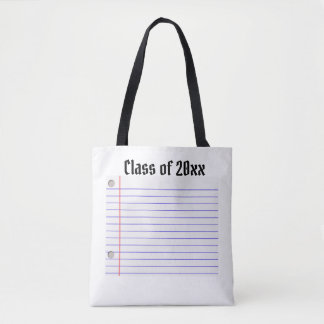 Autograph tote (customize your year)