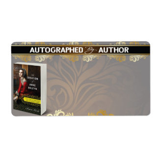 Autographed by Author - Custom for Susan Bordo Shipping Label