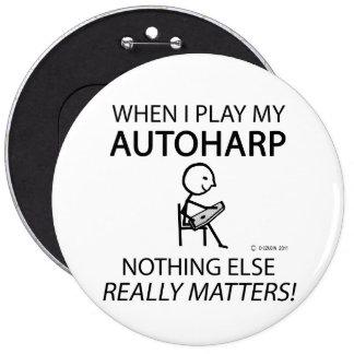 Autoharp Nothing Else Matters Pinback Buttons