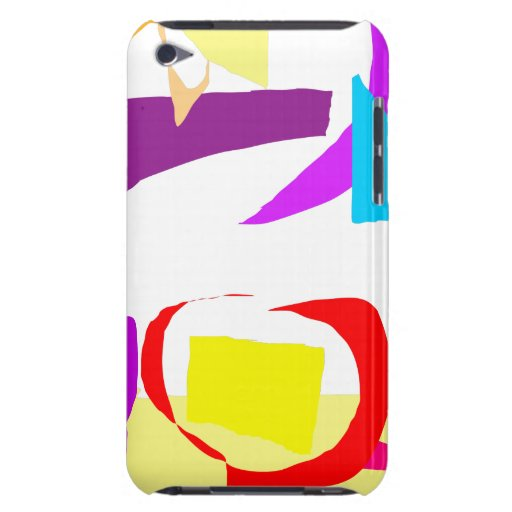 Automatic Coloring iPod Touch Cover
