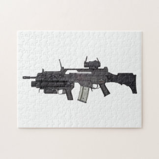Automatic weapon G36 Jigsaw Puzzle