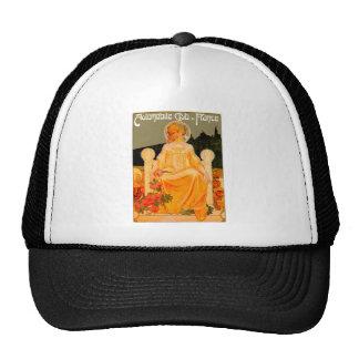 Automobile / Car Club ~ Vintage Auto Advertisement Mesh Hats