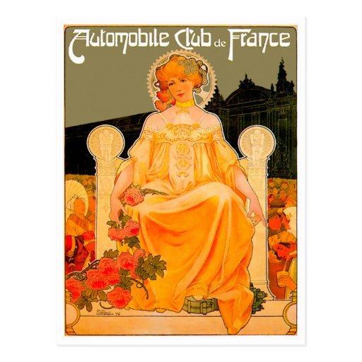 Automobile / Car Club ~ Vintage Auto Advertisement Post Cards