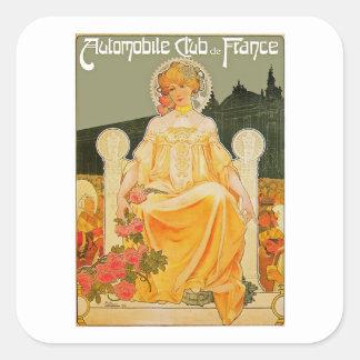Automobile Club de France Square Sticker