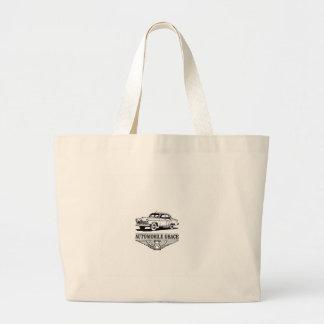 automobile grace fun large tote bag