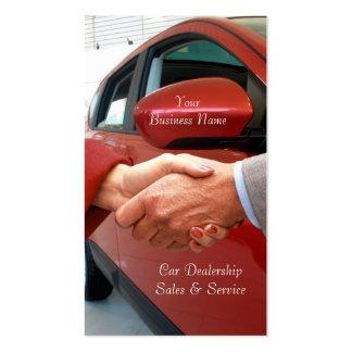 Automobile Sales business card