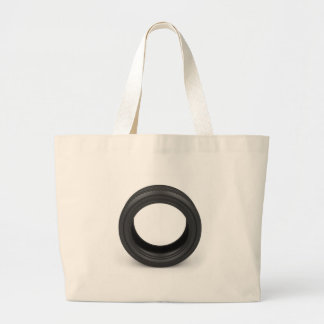 Automobile tire large tote bag