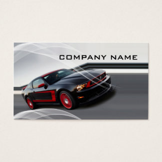 Automotive business business card