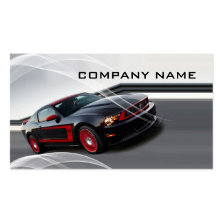 Automotive business pack of standard business cards