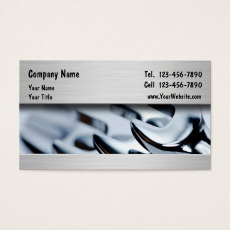 Automotive Mechanic Business Cards