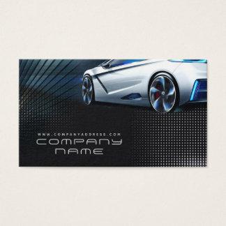 Automotive Mechanical Company Business Card