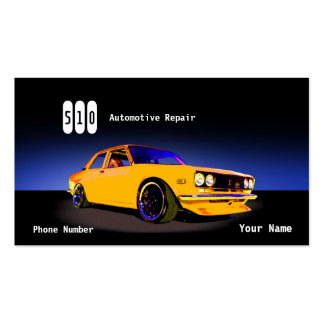 Automotive Repair Pack Of Standard Business Cards