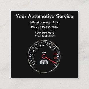 Car Speedometer Business Cards | Zazzle AU