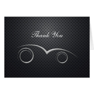 Automotive Theme Business Thank You Cards