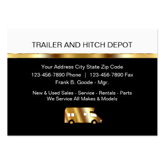Automotive Trailers Business Cards