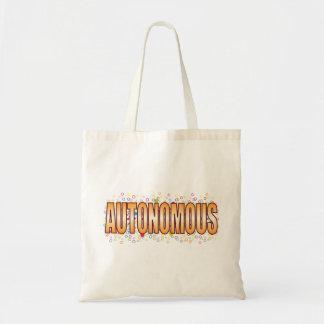 Autonomous Bubble Tag Budget Tote Bag