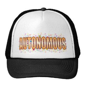 Autonomous Bubble Tag Cap