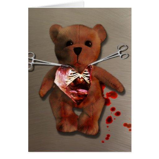 Autopsy of T. Bear Card