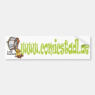 Autosticker Indianerhäuptling Bumper Sticker