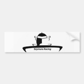 Autosticker of Szymura Racing Bumper Sticker