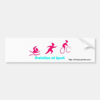 Autosticker Triathlon Bumper Sticker