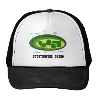 Autotrophic Dream (Biology Humor Food For Thought) Hats