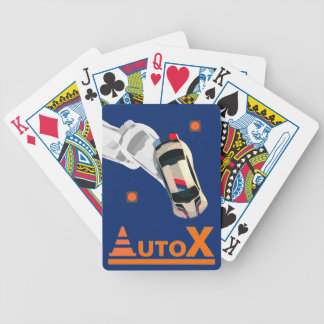 AUTOX-White Bicycle Playing Cards