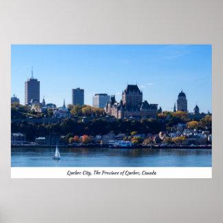 Autumn 2017   Quebec City Poster