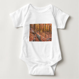 Autumn Above the Trail Baby Bodysuit