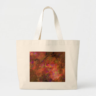 Autumn Abstract Large Tote Bag