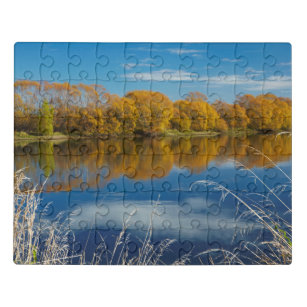 Autumn Along the Clutha River Jigsaw Puzzle