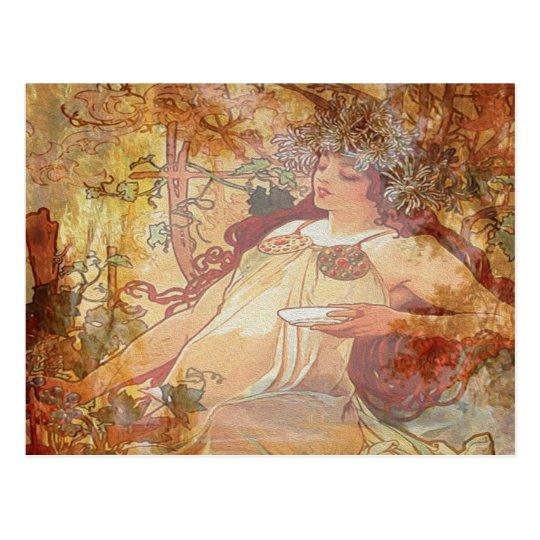 Autumn Angel Postcard