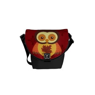 Autumn Animals Courier Bags
