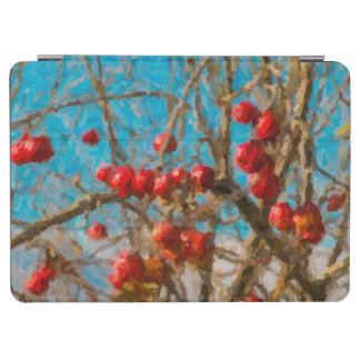 Autumn Apple Tree Painting iPad Air Cover