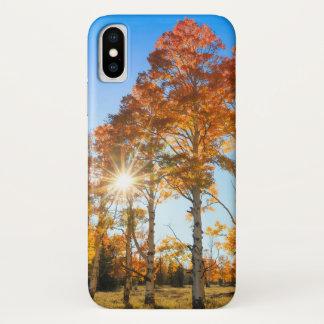 Autumn Aspens iPhone X Case