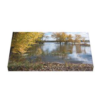 Autumn at Black Dog Lake Canvas Print