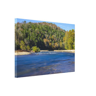 Autumn At North Fork Canvas Print