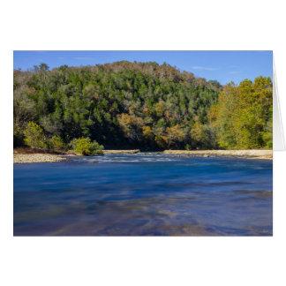 Autumn At North Fork Card