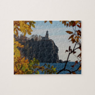Autumn at Split Rock Lighthouse Jigsaw Puzzle