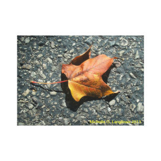 Autumn at the Caves - Wrapped Canvas Gallery Wrap Canvas